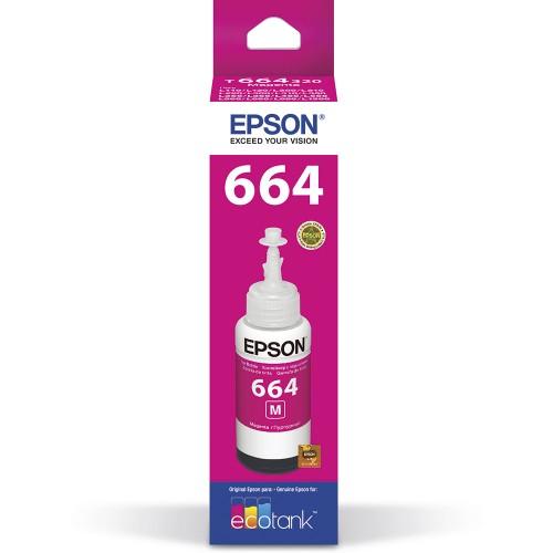TINTA EPSON T664 MAGENTA/ VERMELHO